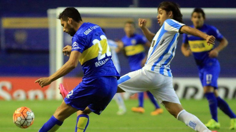 Boca y Racing empataron sin goles en el debut del Melli