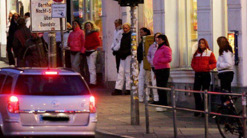 Prostitutas de Hamburgo
