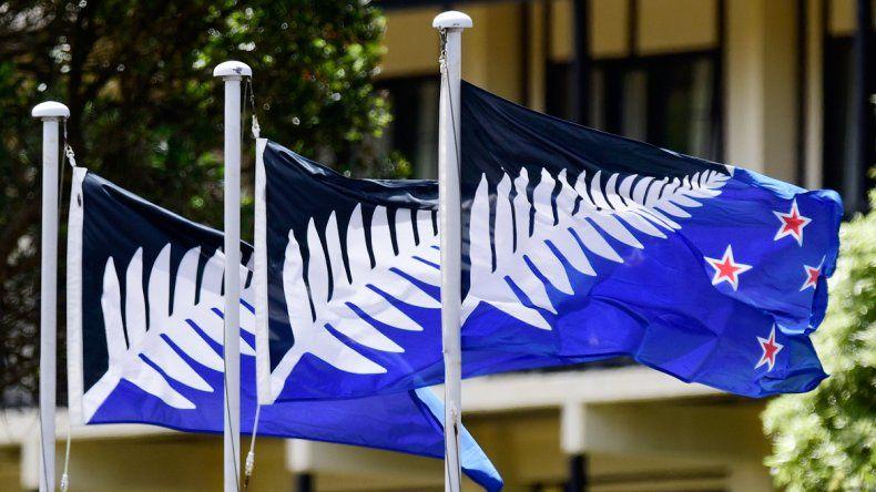 La de arriba es la actual bandera. La de abajo podría ser la nueva.