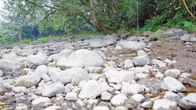 El río Atoyac en el estado de Veracruz
