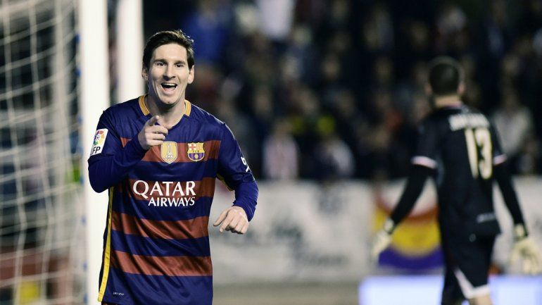El argentino se despachó con tres goles en la victoria del Blaugrana.