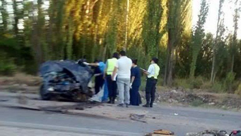 Trágico accidente en Ruta Chica: un hombre murió tras chocar contra un colectivo