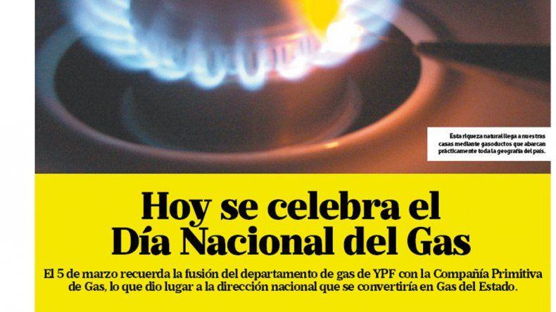 Día Nacional del Gas