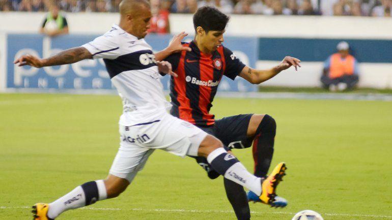 San Lorenzo empató con Gimnasia en La Plata