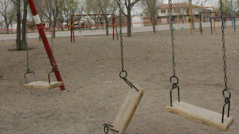 Destrozos de espacios públicos