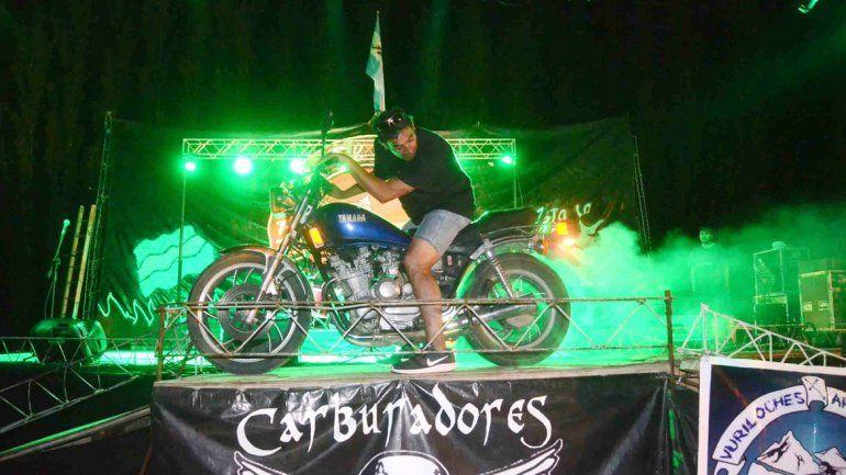 Los amantes de las motos coparon Plottier en una nueva edición del Motorock