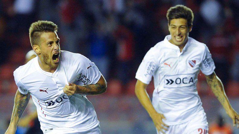 Independiente goleó a Colón