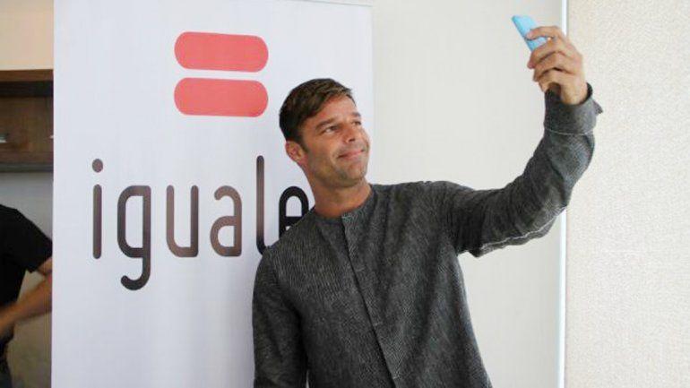 Ricky Martín grabó un video a favor de la diversidad sexual en Chile.