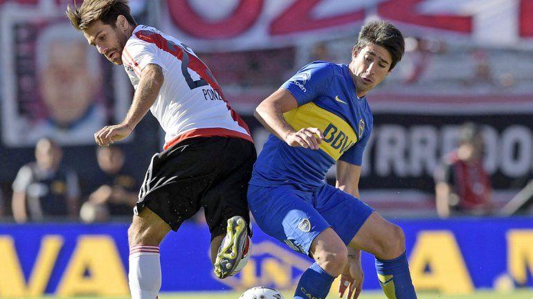 River no gana un Superclásico. En el Monumental desde el Apertura 2010 con gol de Maidana.