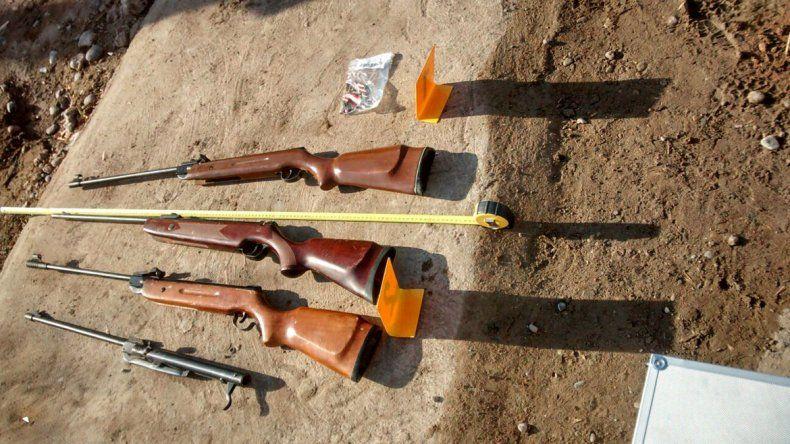 Secuestraron armas y drogas en el barrio San Lorenzo: hay cuatro detenidos