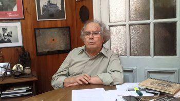 Adolfo Pérez Esquivel, premio nobel de la Paz, denunció que su casa de Mar del Plata fue saqueada.