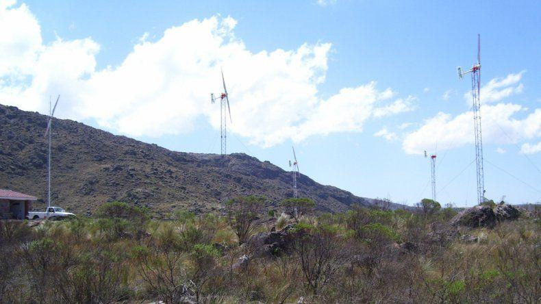 La energía eólica tiene mucho para crecer en la provincia.