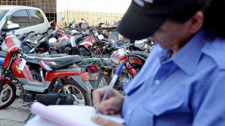 Durante los operativos que se realizaron el sábado se secuestraron 44 motos.