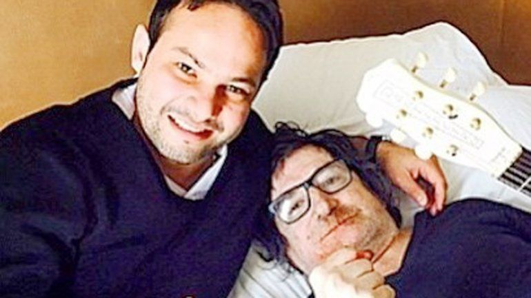 Charly junto a Marcos Petro