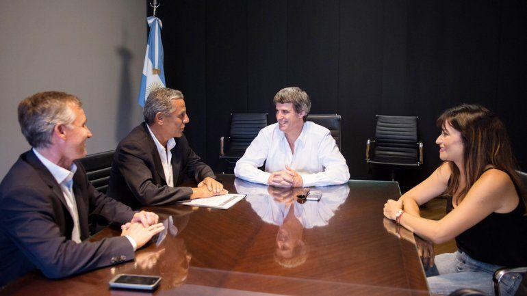 Quiroga estuvo el lunes con Macri y ayer con el ministro de Hacienda. También fueron Fonfach y Schlereth.