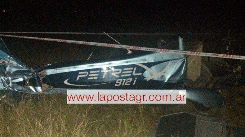 Tres muertos y un herido al chocar dos avionetas en General Rodriguez