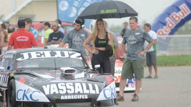 El sol pegó fuerte en el autódromo de Centenario.