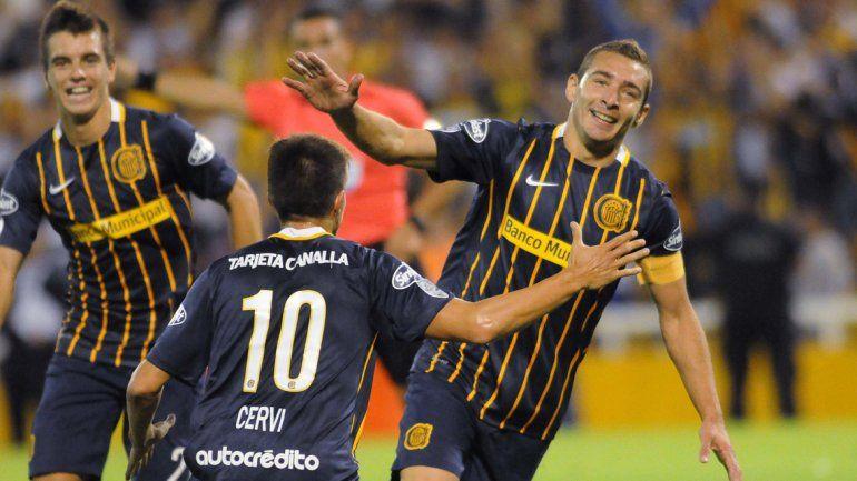 Con un triplete de Marco Ruben, Central goleó a River de Uruguay
