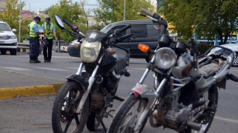 Las dos motos involucradas en el accidente fueron secuestradas por la Policía.