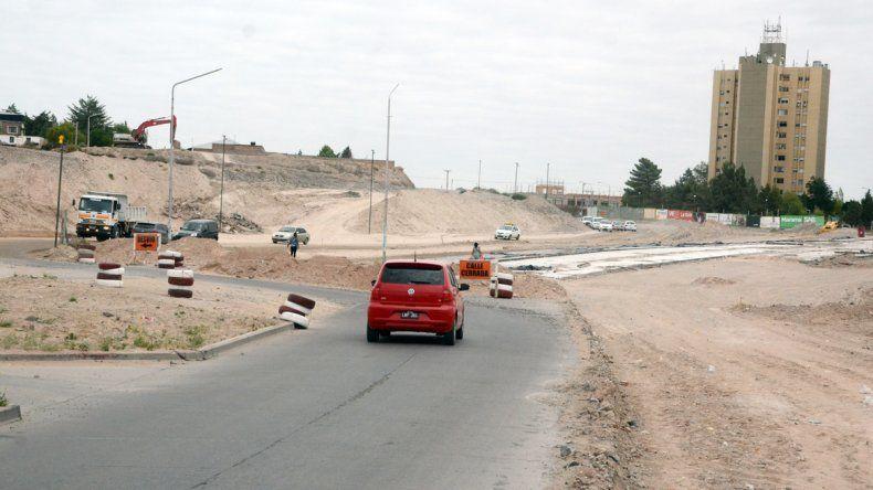 Las obras de la calle Doctor Ramón molestan a los conductores.