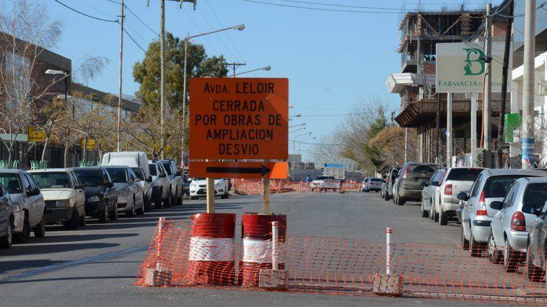 Desde hoy, está cortada la calle Leloir entre Avenida Argentina y Buenos Aires