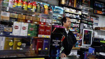 Los cigarrillos aumentaron hoy un 7 por ciento