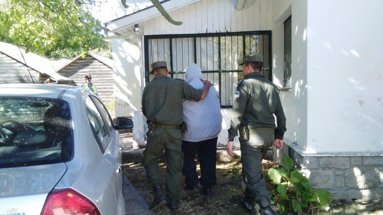 El acusado de abuso había sido detenido por Gendarmería.