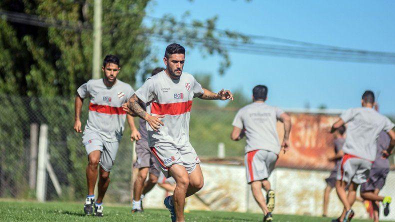 Sarraute se sumó a Independiente a principios de enero y su habilitación llegó recién la semana pasada.
