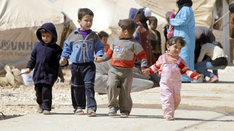 Uno de cada tres chicos en Siria nace en una zona de guerra.