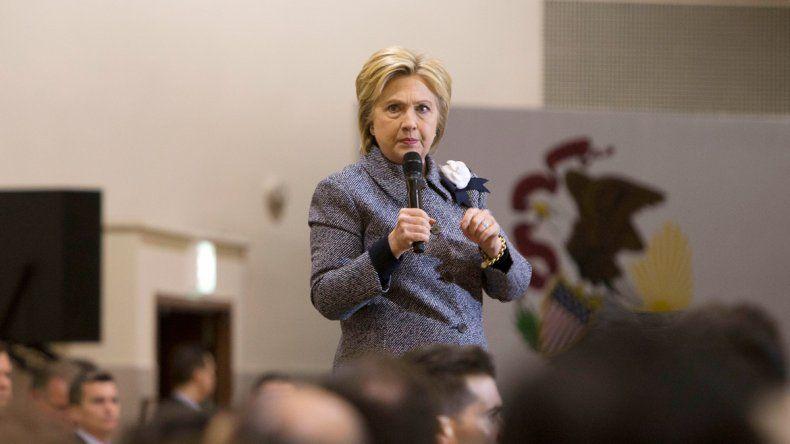 La demócrata Hillary Clinton y el republicano Donald Trump.