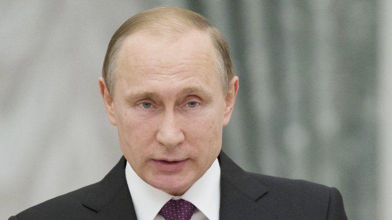El presidente ruso aseguró que su intención es colaborar por la paz.