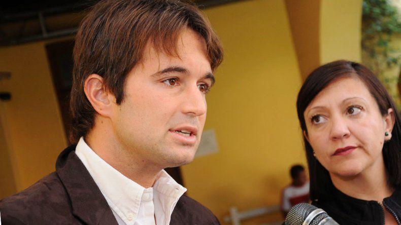 Prezzolli y Soledad Martínez se reunieron en la Gobernación. El subsecretario de Gobierno destacó a la intendenta de la zona centro de la provincia.