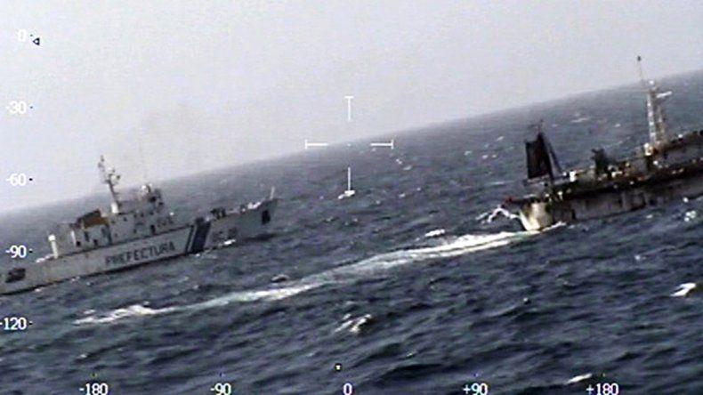 Según se detalló no es el mismo pesquero involucrado en el conflicto la semana que viene.