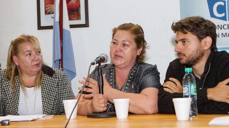 Se confirmó que Alicia Sifuentes (derecha) es la madre de Julio Manzini.