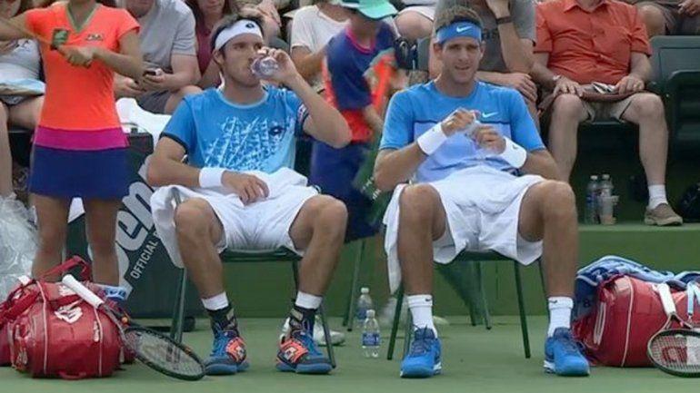 Fin del torneo: Del Potro y Mayer perdieron en Indian Wells