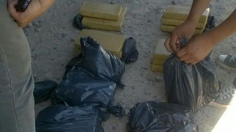 Secuestraron 26 kilos de marihuana que venían a Neuquén