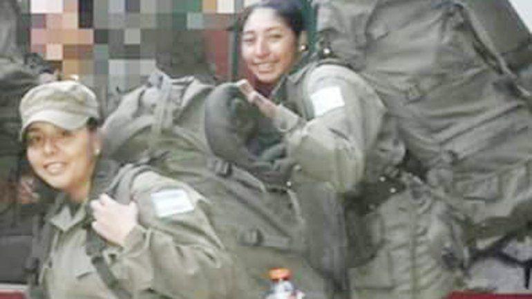 Karina Catalán y Tatiana Millapi iban al cuartel cuando fueron arrolladas.