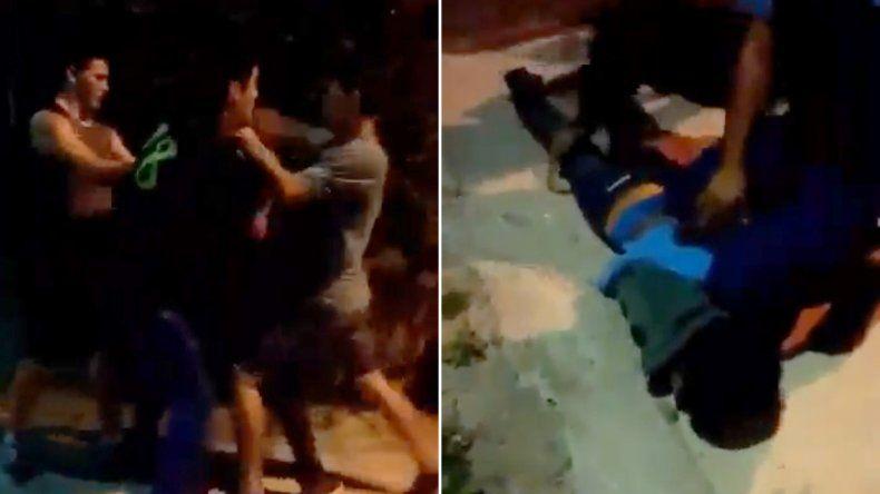 Vecinos atraparon y lincharon a un chico que quería robarle la moto a una joven