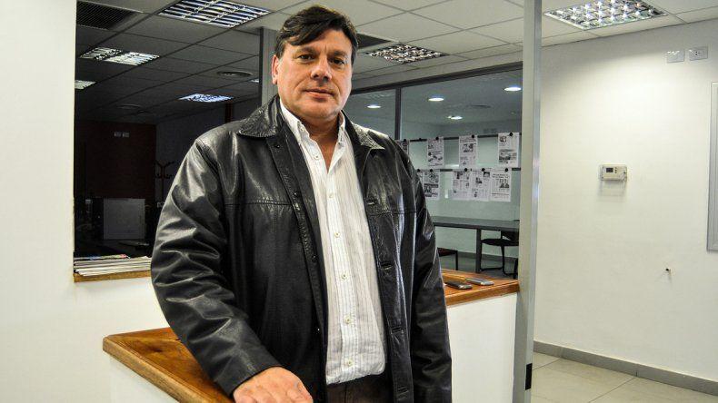 El intendente de la ciudad de Plaza Huincul
