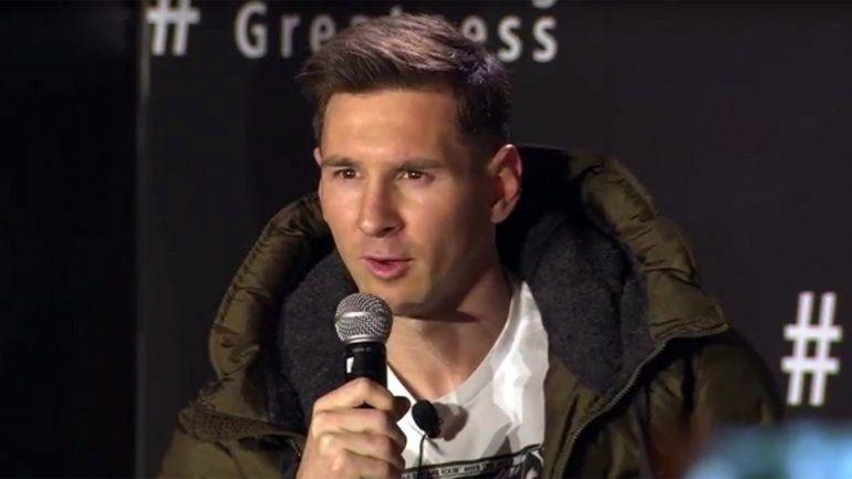 Messi: Si jugara en Argentina, lo haría en Newells