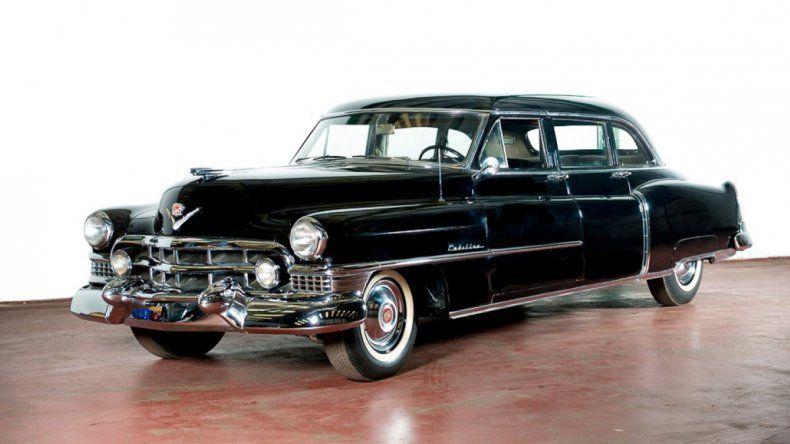 La foto del Cadillac publicada por la casa subastadora en su sitio web.