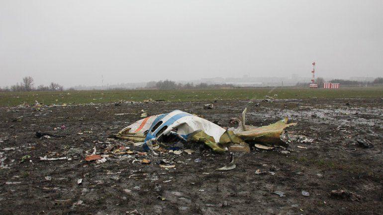 El avión provocó una gran explosión que se pudo ver a cuadras de distancia.