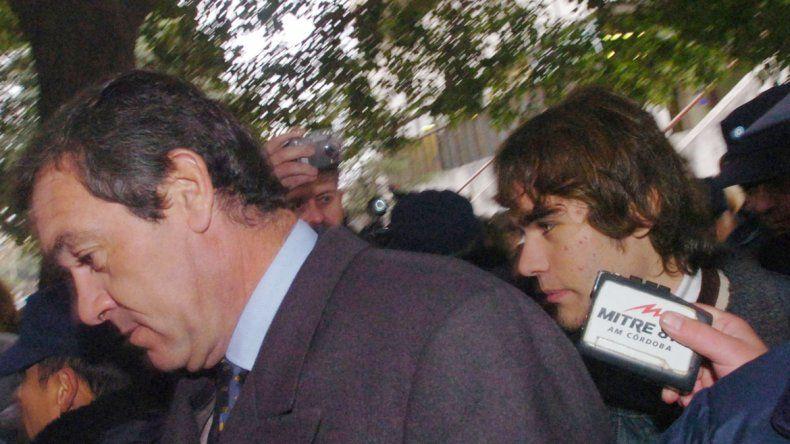 Marcelo Macarrón y su hijo Facundo
