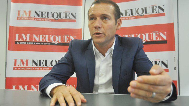 Gutiérrez reemplazó a Jorge Sapag