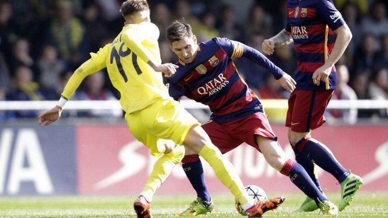 Barcelona se confió y solo obtuvo un empate ante Villarreal