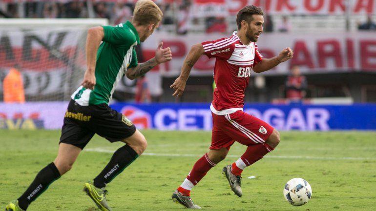 Sobre el final, Alario le dio un empate a River ante Banfield