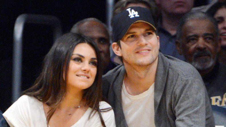 El actor se encuentra casado con la bellísima Mila Kunis.
