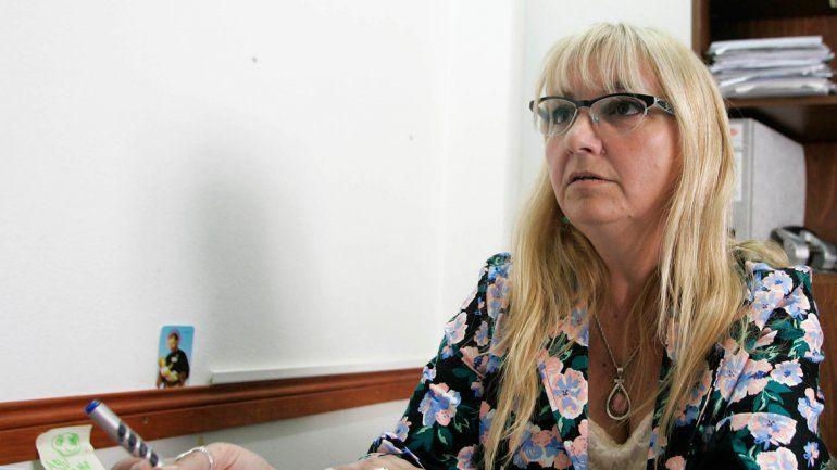 La presidenta del bloque del MPN en Centenario