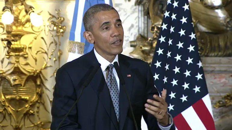 Obama sobre la dictadura argentina: No fue un momento productivo