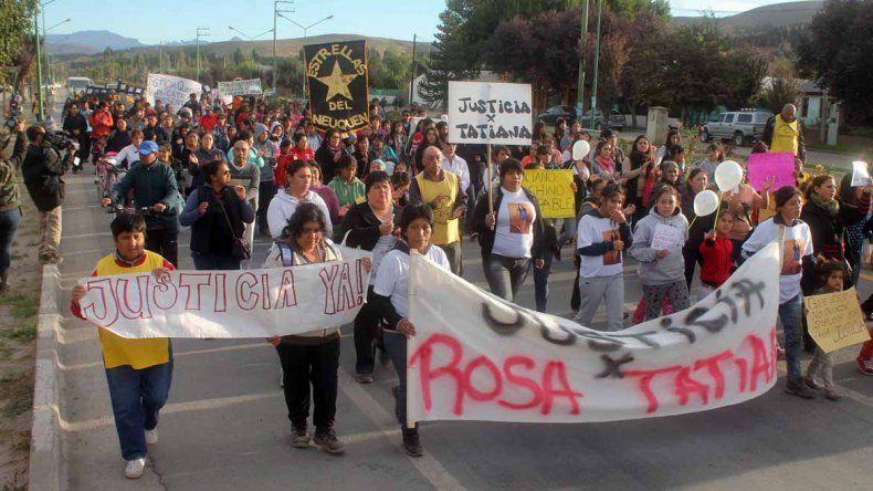 Marcharon para reclamar justicia por las jóvenes soldado